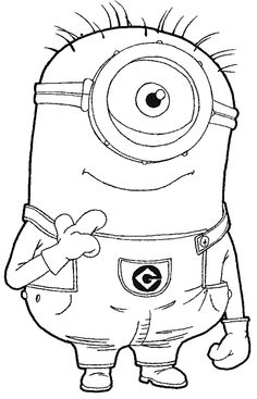 236x367 Step Step 097 How To Draw Kevin The Minion From Despicable Me
