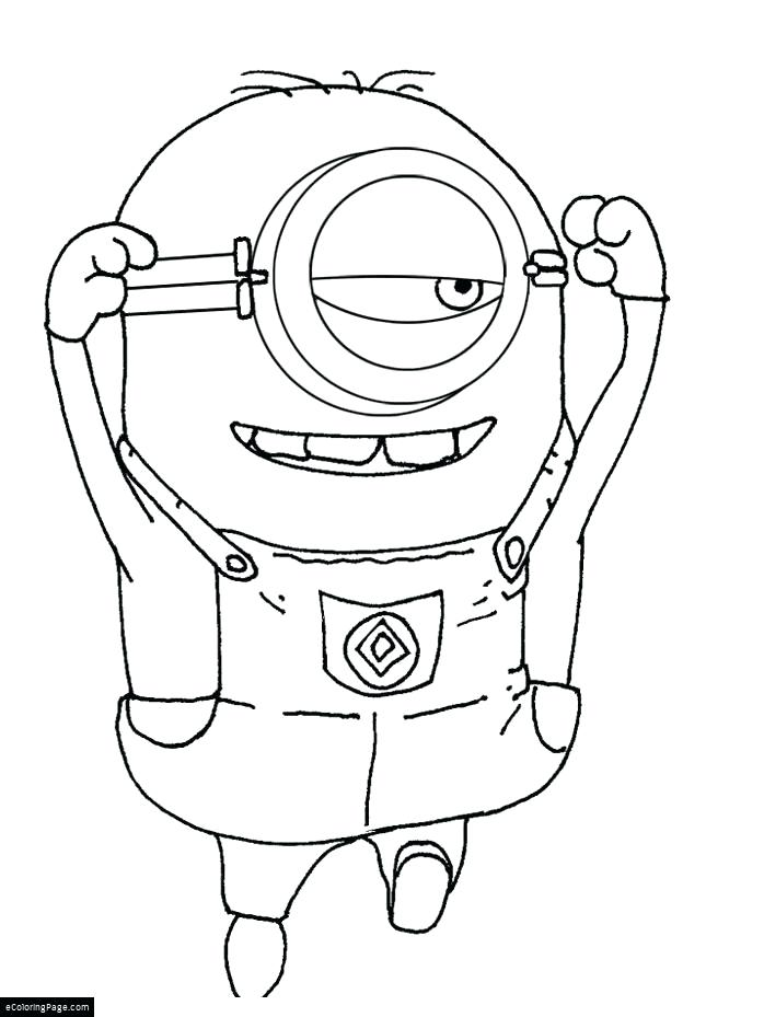 698x929 Minion Coloring Pages Despicable Me 2 Mi Minions Minion Colouring