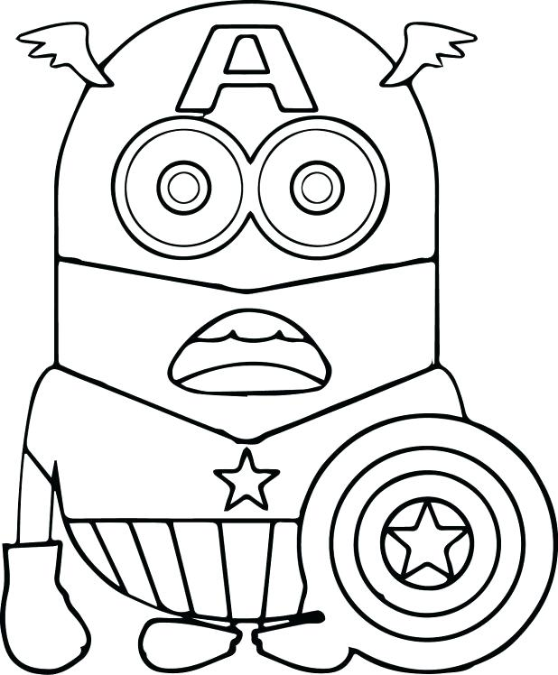 618x748 Minion Coloring Pages Minions Coloring Pages Printable Minion