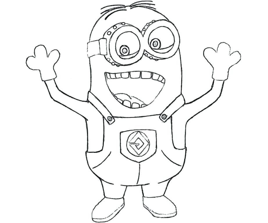 922x768 Minion Coloring Pages To Print As Awe Inspiring Minions Coloring