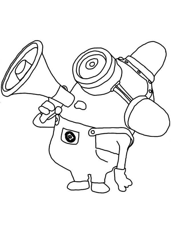 600x840 Minion Coloring Pages Isaac Birthday Free
