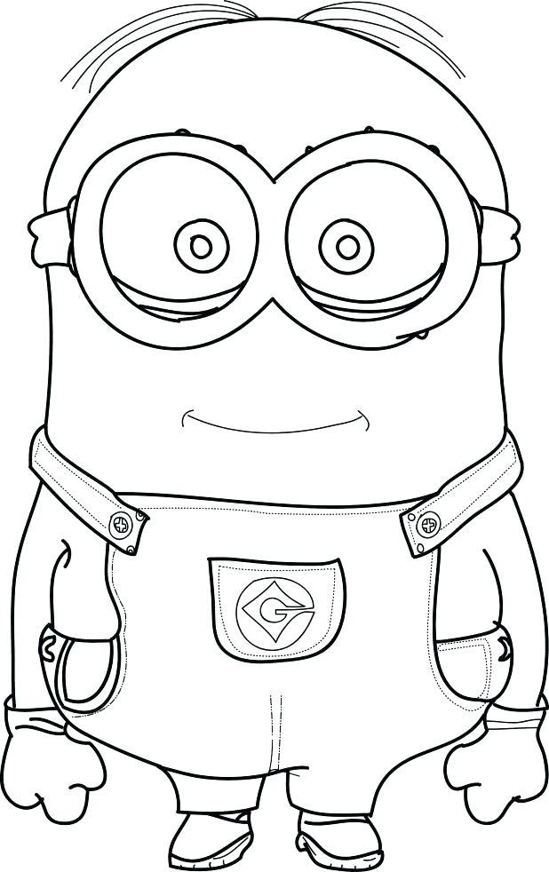 618x982 Printable Minion Coloring Pages Minions Coloring Book Cool Minions