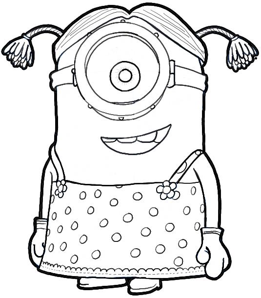535x611 Splendid Ideas Despicable Me Outline Draw Agnes Minions 2 Gru