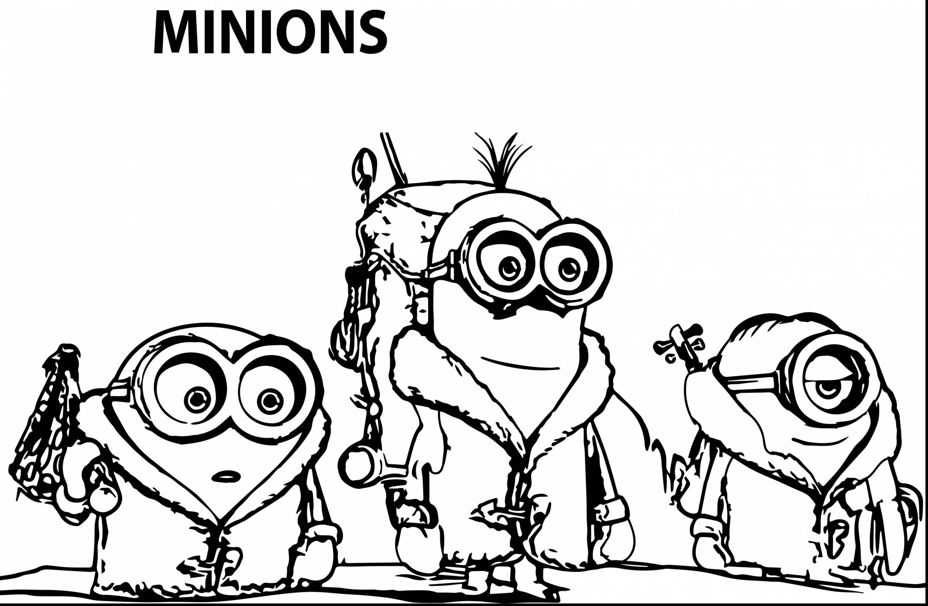 3645x2379 Wonderful Minion Coloring Pages With Minions Coloring Pages