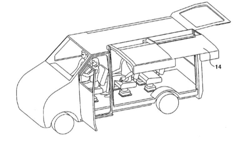 Minivan Drawing At Getdrawings Com