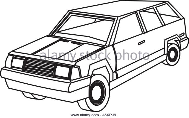 640x402 Suv Car Stock Vector Images
