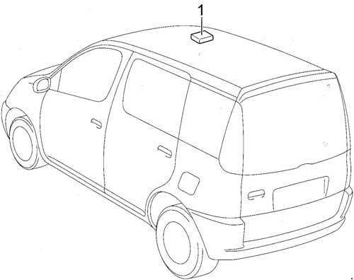 500x396 Toyota Yaris Verso And Echo Verso Fuse Box Diagram Fuse Diagram