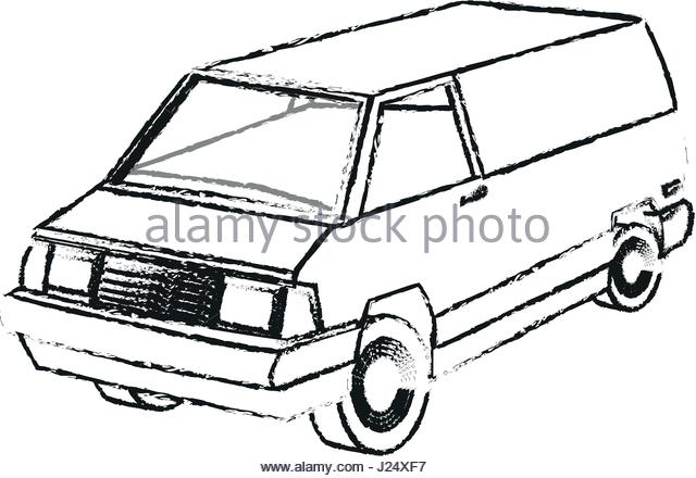 640x440 Vintage Mini Van Stock Photos Amp Vintage Mini Van Stock Images
