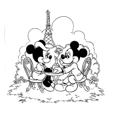230x230 Top 25 Free Printable Cute Minnie Mouse Coloring Pages Online
