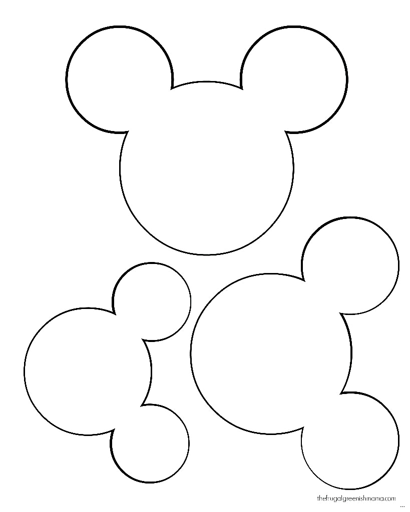 Minnie mouse bow drawing at free for for Free printable minnie mouse bow template