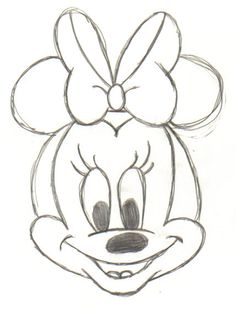 236x315 Baby Minnie Mouse Drawing Step By Step