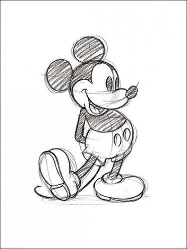 375x500 Drawn disney mickey mouse