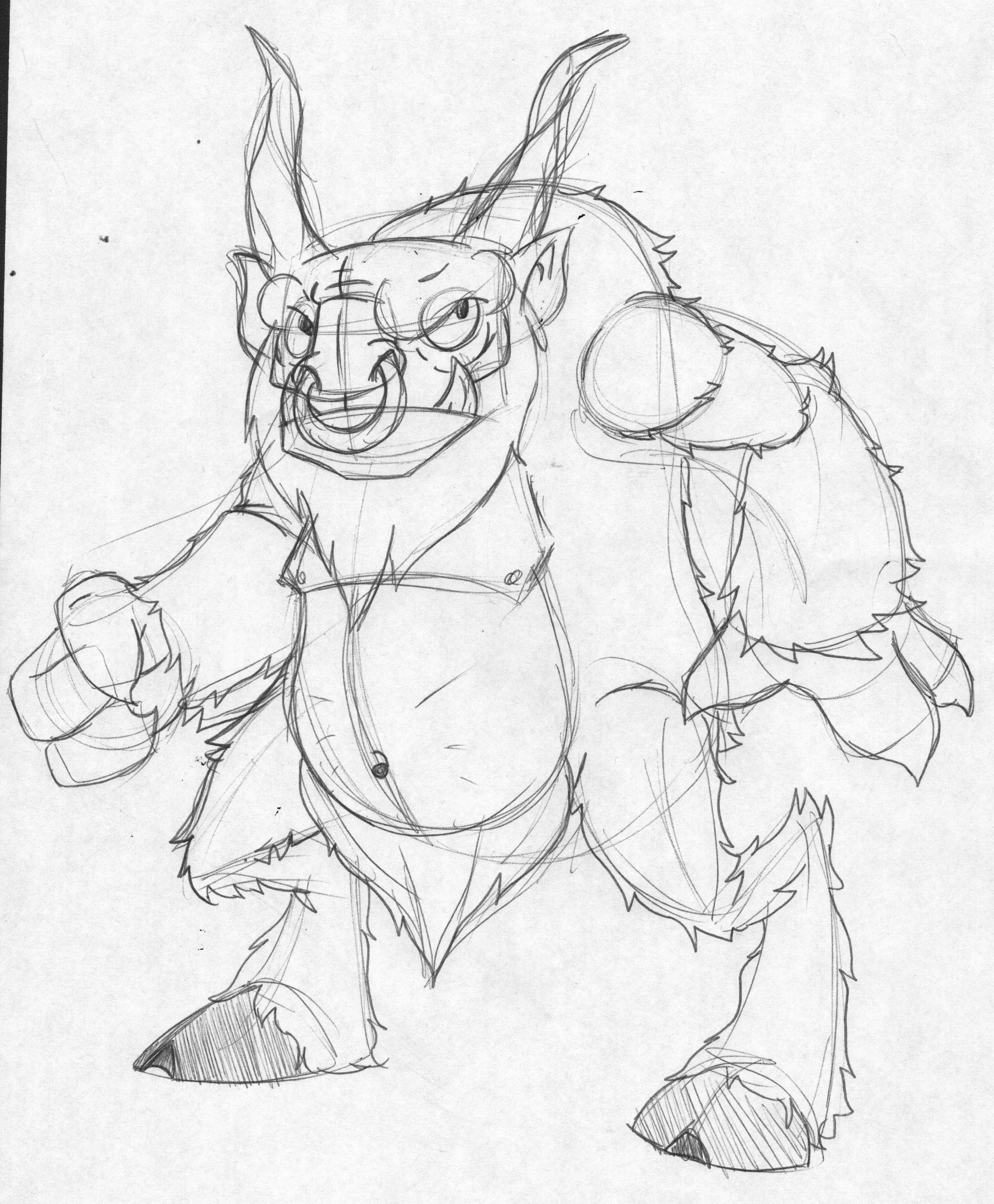 Minotaur Drawing at GetDrawings com | Free for personal use