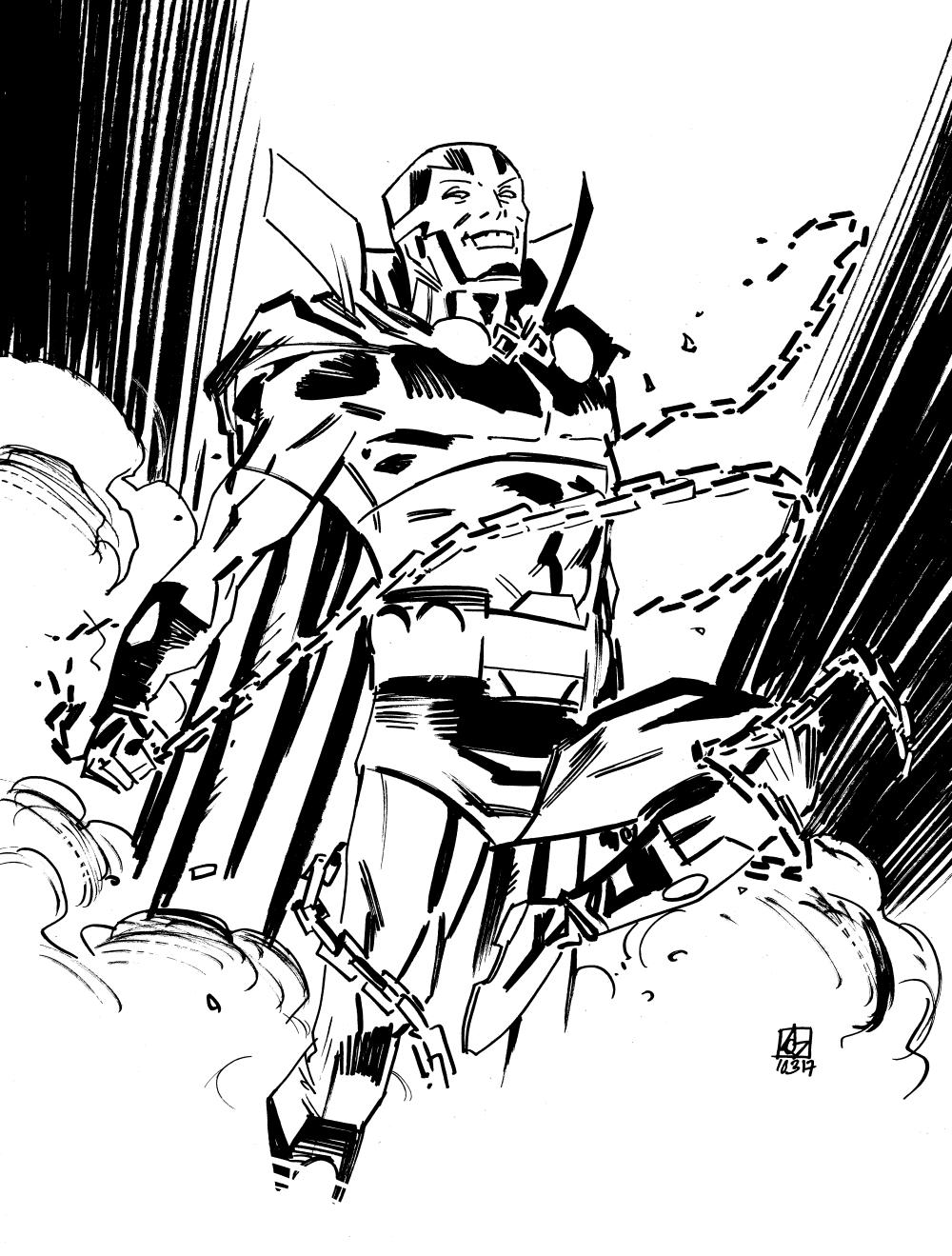 1000x1319 Mister Miracle Dean Kotz