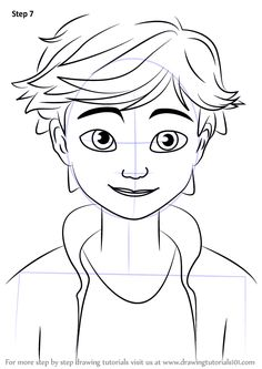 236x333 Learn How To Draw Adrien Agreste From Miraculous Ladybug