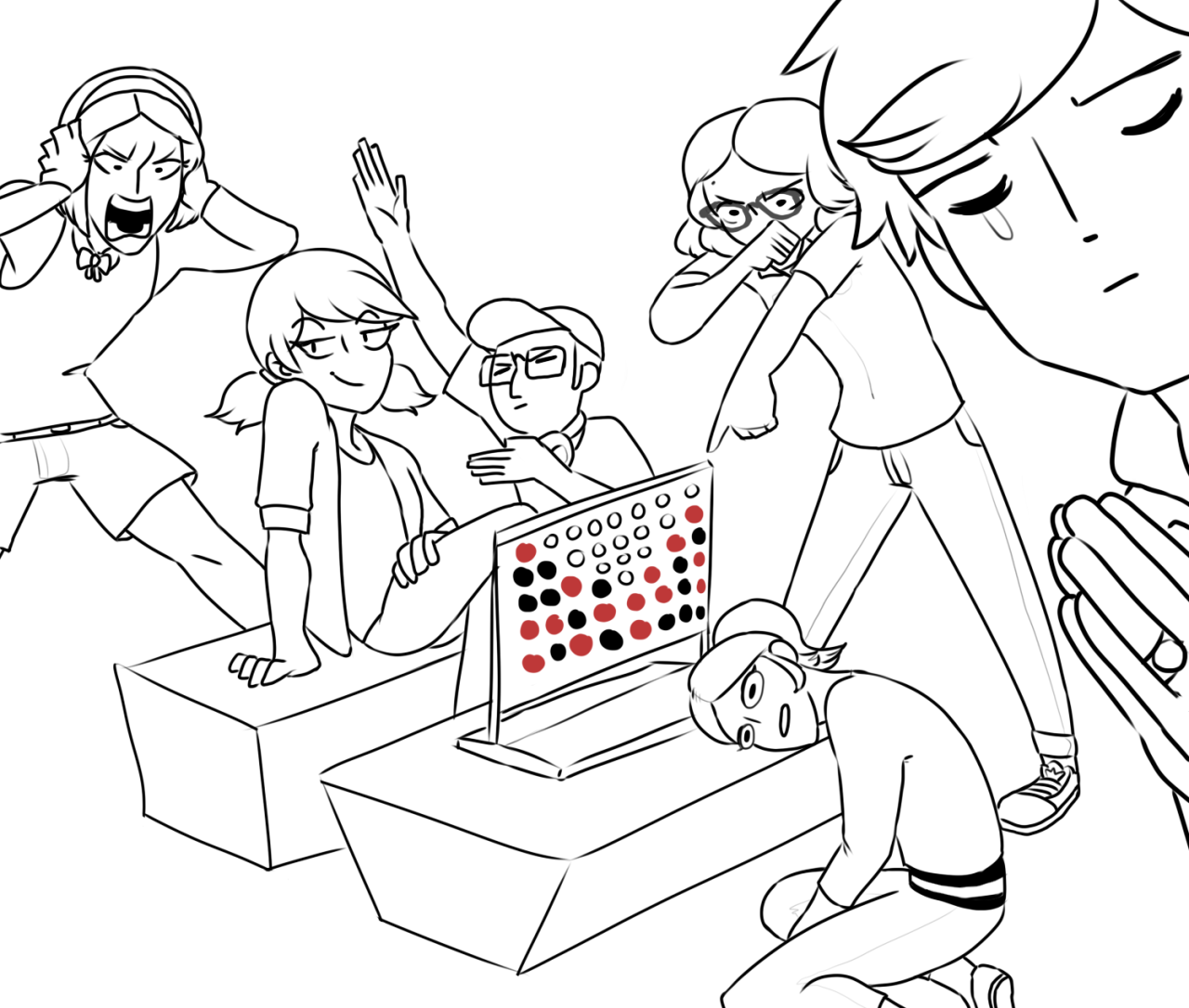 1280x1086 Miraculous Ladybug News U2014 Tinysport So I Did The Draw The Squad  Meme