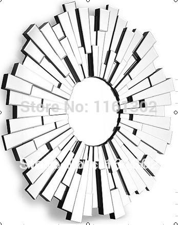 347x439 Mr 201124 Sunburst 3d Design Wall Mirror In Decorative Mirrors