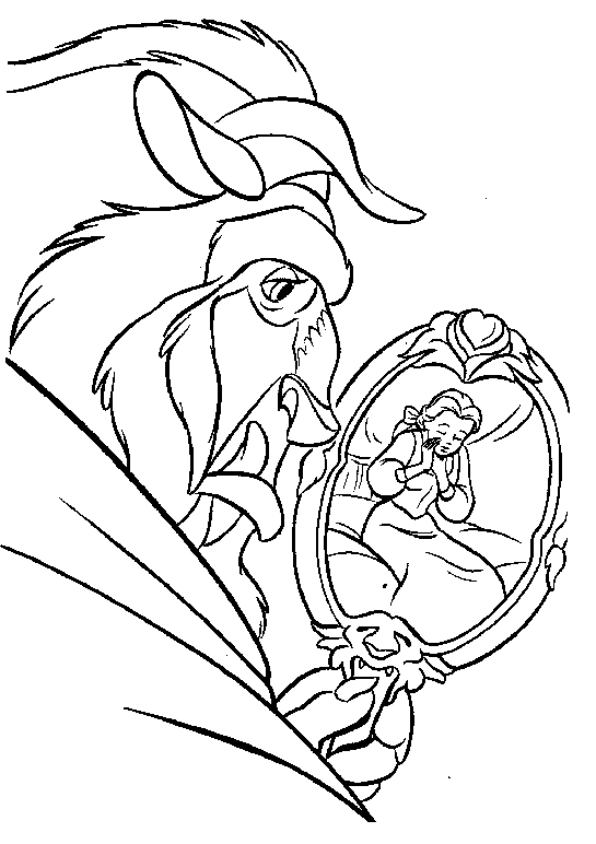 545x772 See Belle From The Mirror Coloring Pages