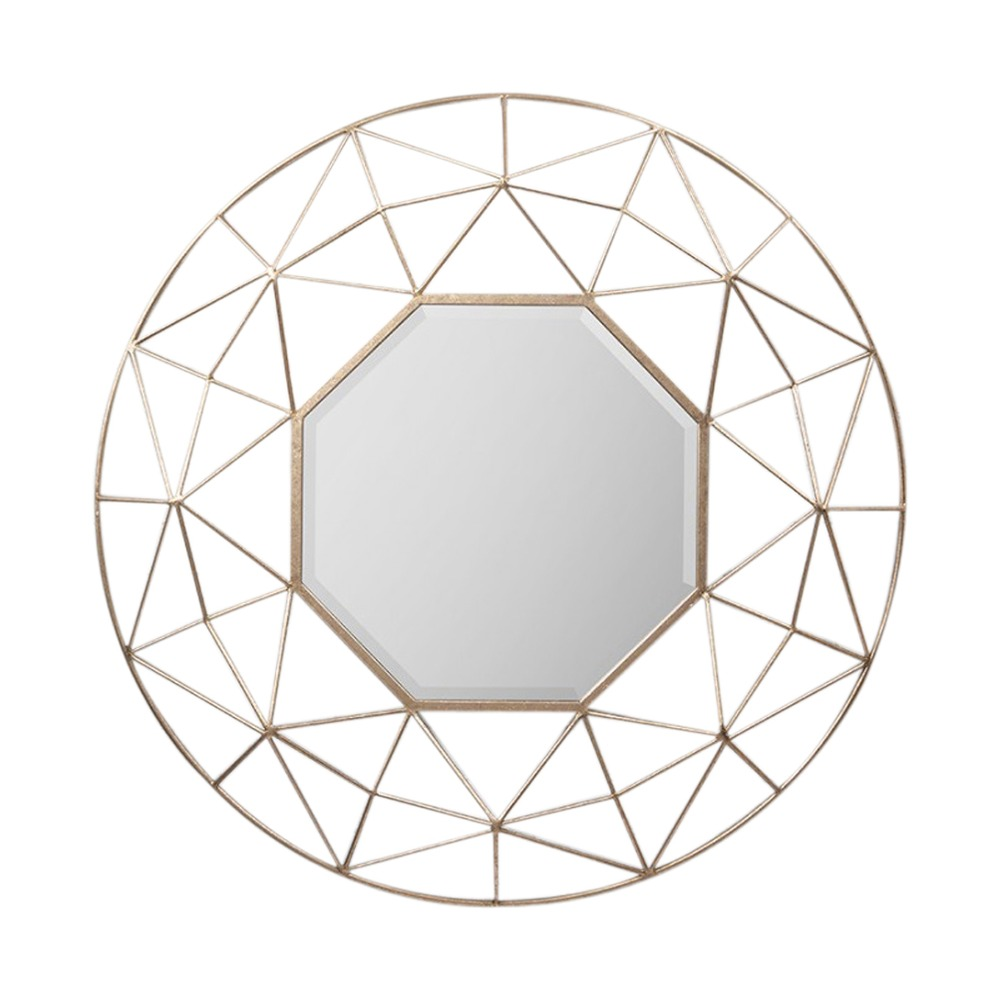 1000x1000 Gold Mirrors Andromeda Gold 3d Mirror Select Mirrors