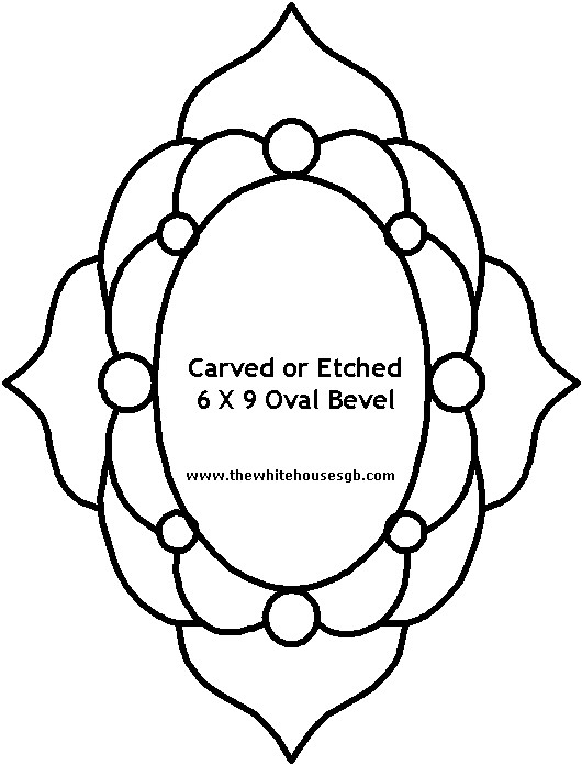 530x696 Free Mirror Patterns For Stained Glass