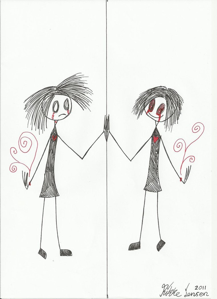 762x1048 Mirror Girl Drawing By Lonely Person