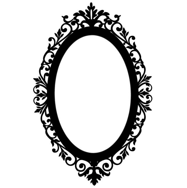 640x645 Oval Wall Mirror Cheap Home Design Ideas