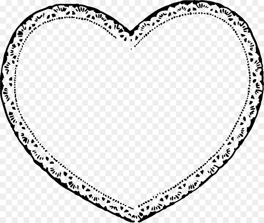 900x760 Valentines Day Heart Black And White Clip Art
