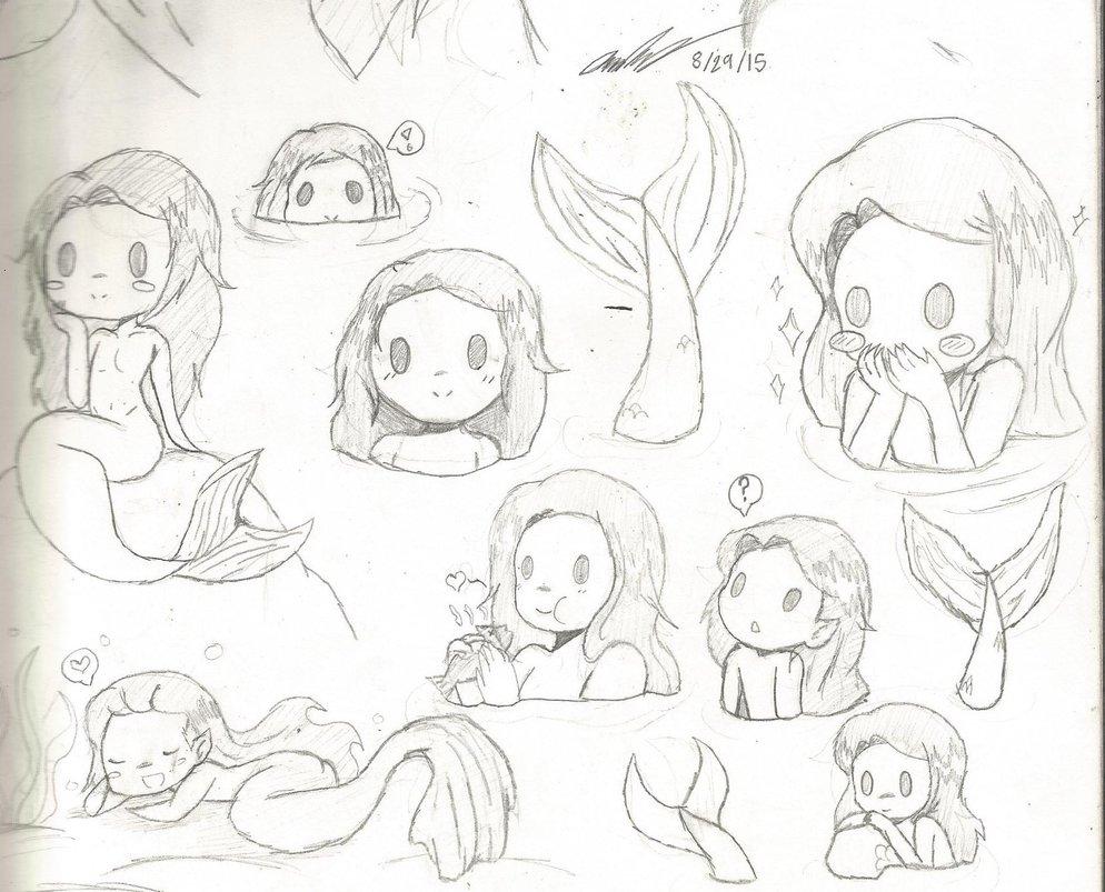 994x803 Gift Merman! Loki Sketch Dump By Mischief Soul Lover