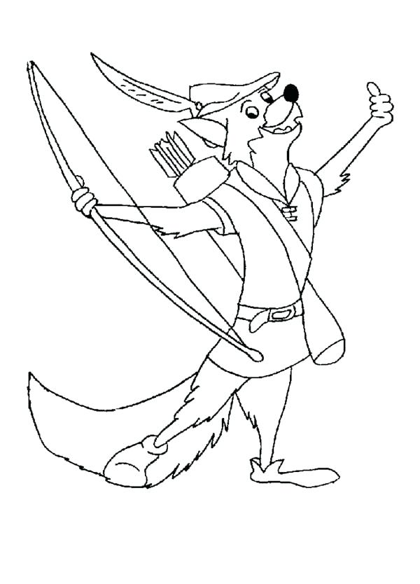 600x834 Robin Hood Coloring Pages Robin Hood Coloring Pages Best Images