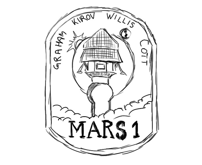 694x568 Mission To Mars Patch
