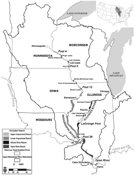 472x613 Upper Mississippi River Basin, Floodplain Reaches, Ltrm Resource