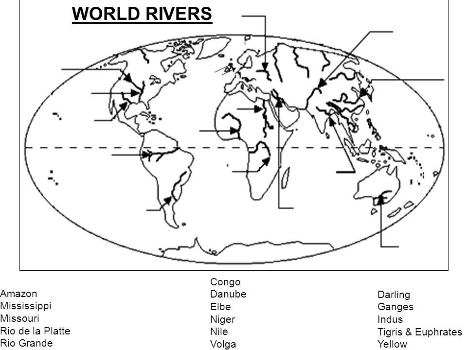 960x720 World Rivers Amazon River Congo River Danube River Indus Amp Ganges