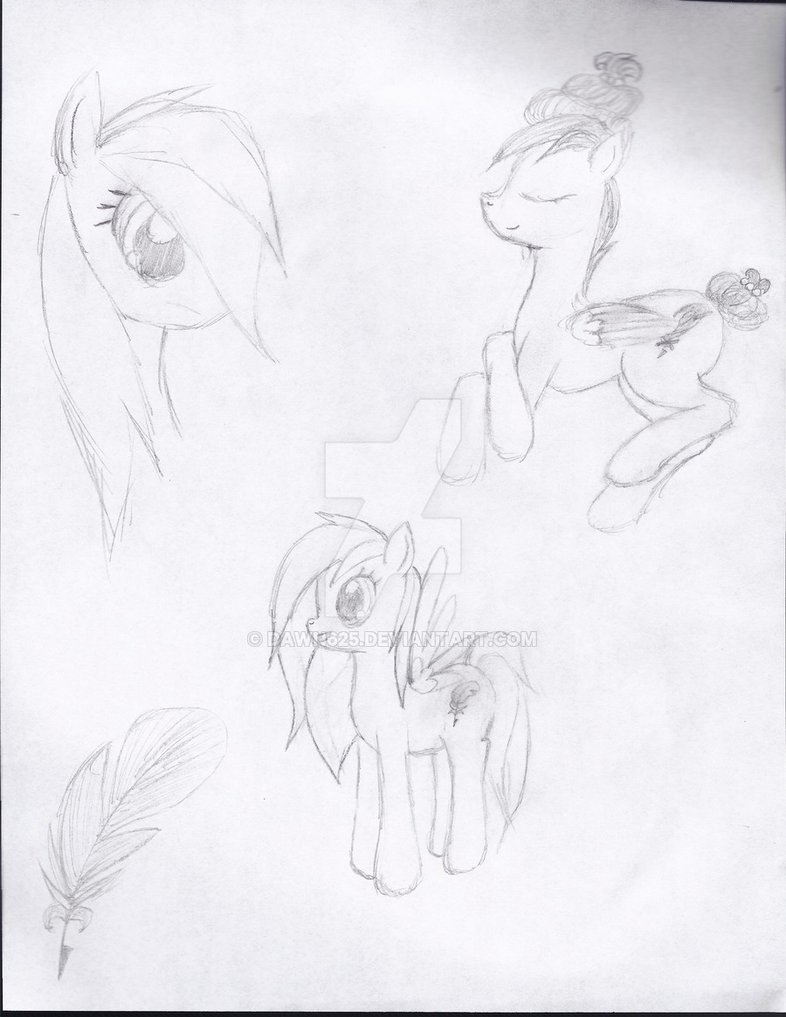 786x1017 Mlp Fim Oc Mist Twirl Sketches By Dawn625