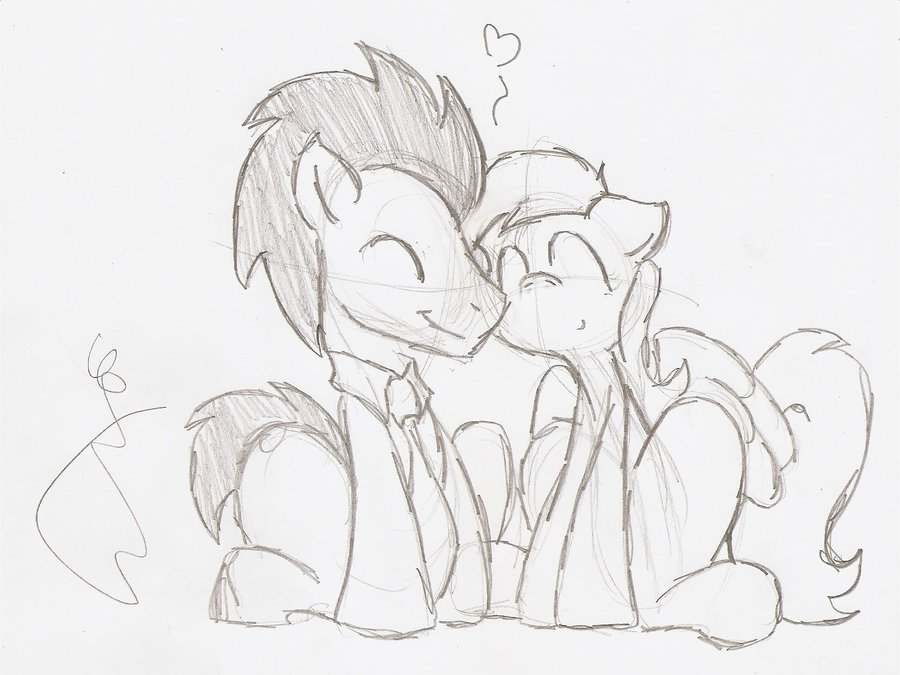 900x675 Quick Sketch Request Doctor X Derpy By Smoking Mist