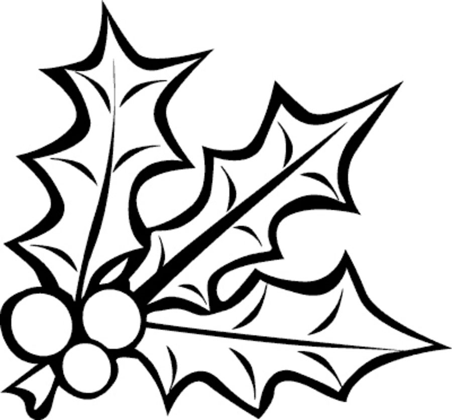 900x837 Coloring Pages Mistletoe, Printable For Kids Amp Adults, Free