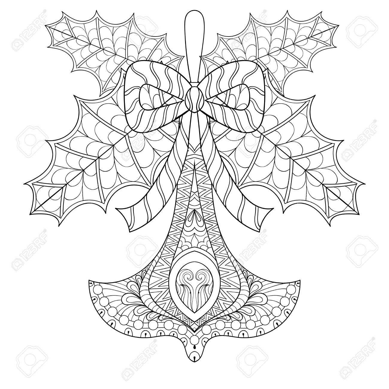 1299x1300 Christmas Mistletoe Drawing. Mistletoe Detailed. Free Printable