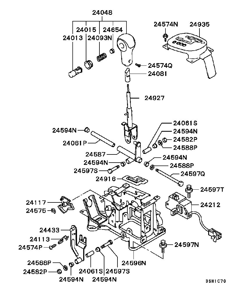 Mitsubishi Eclipse Drawing At Free For Personal 1997 Fuse Box Diagram 846x997 Do You Have A Picture Of Gearshift Assembly 2002