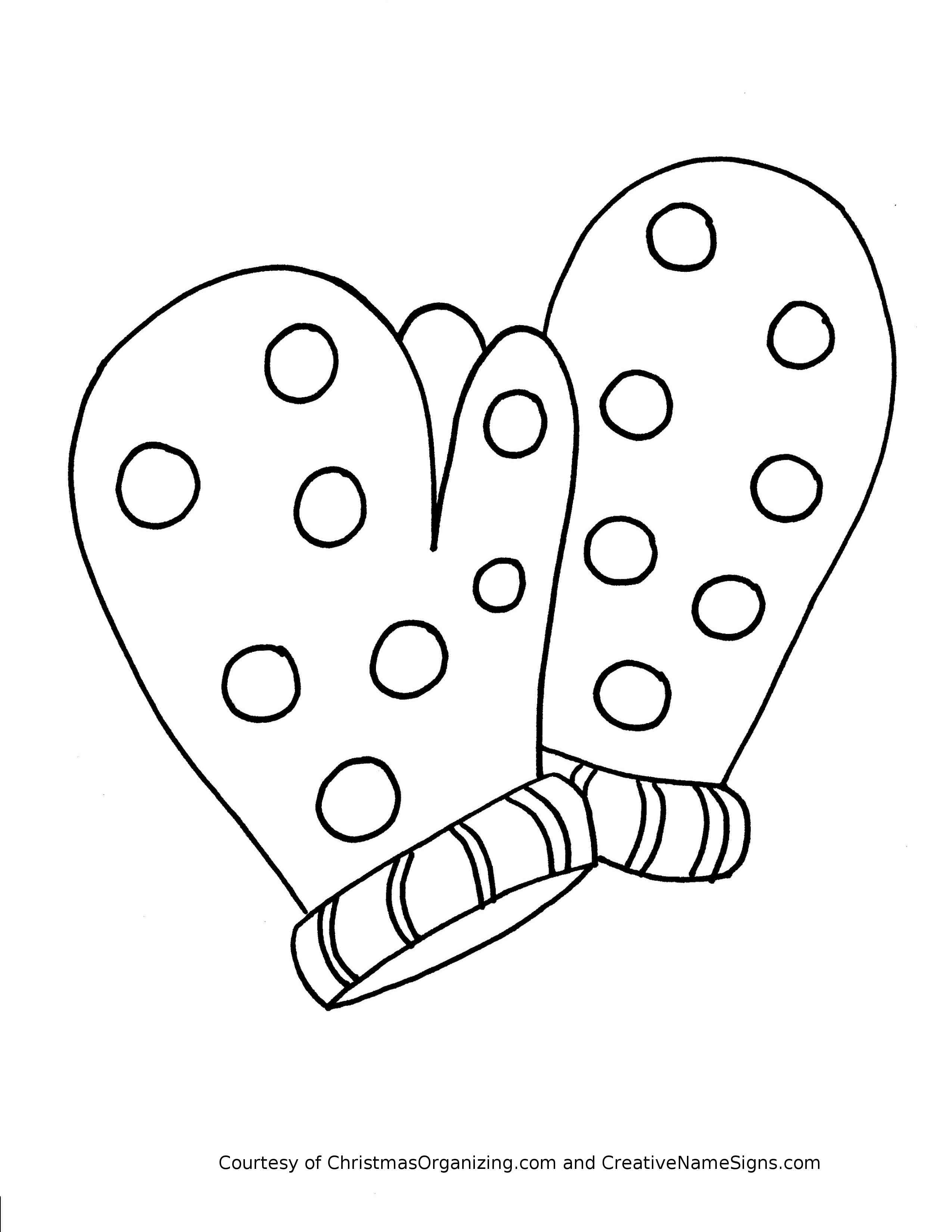 Mitten Drawing at GetDrawings | Free download