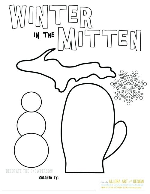 Mitten Drawing at GetDrawings.com | Free for personal use ...