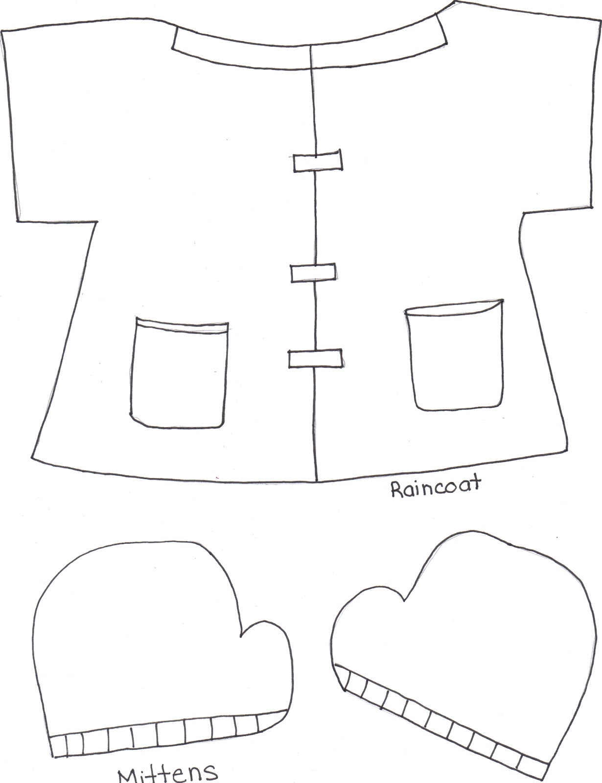 image regarding Printable Mitten Pattern known as Mitten Drawing Routine at  No cost for