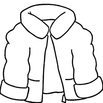 Coloring pages of children wearing afo ~ Mittens Drawing at GetDrawings.com | Free for personal use ...