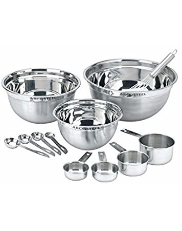 356x450 Master Chef Mix Measure Stainless Steel Measuring Cups
