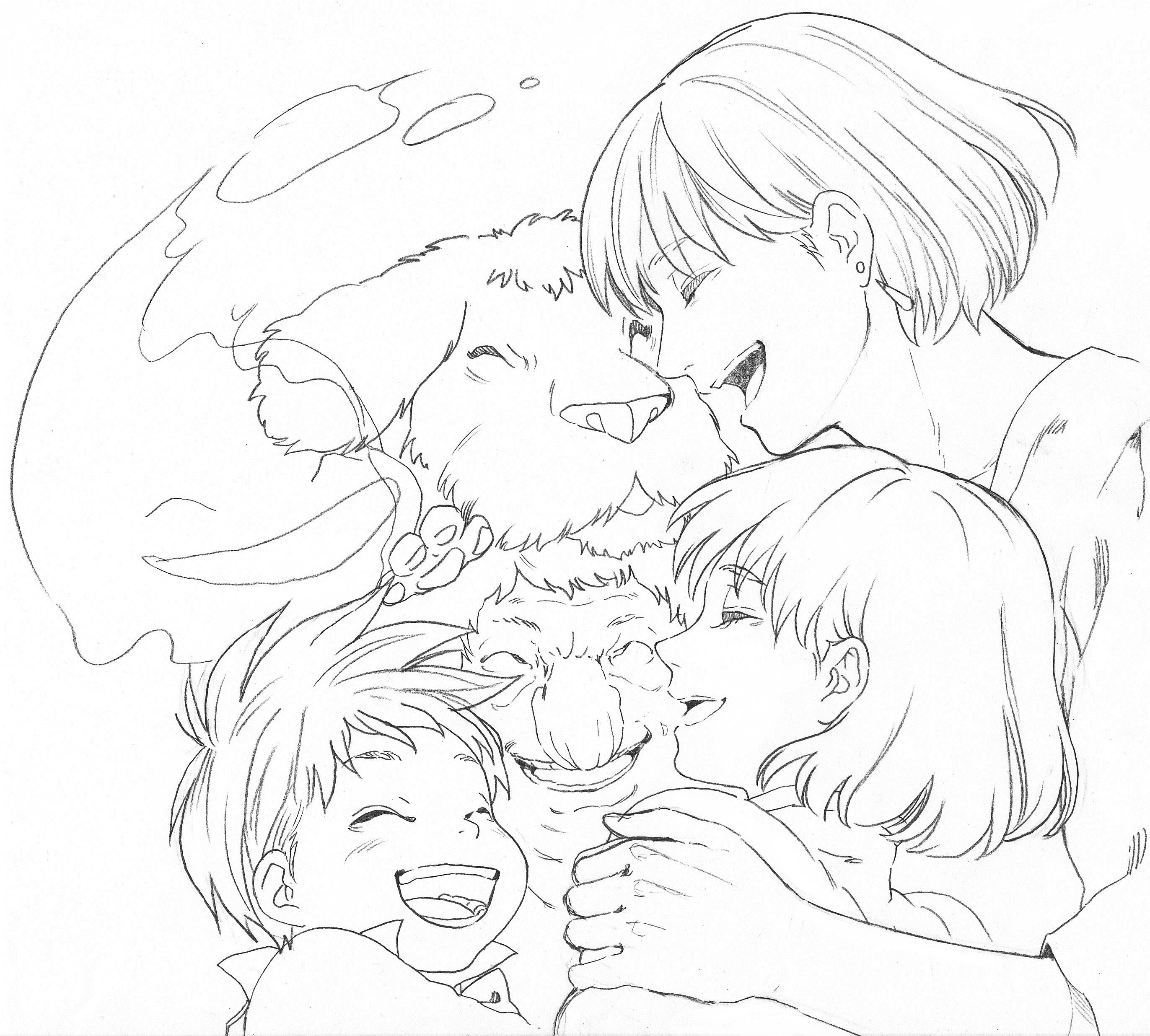 2744x2472 Howl's Moving Castle Hayao Miyazaki Studio Ghibli Howl'S