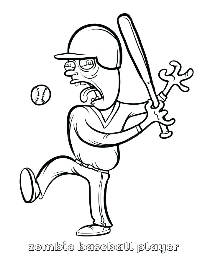 695x900 Baseball Coloring Pages Mlb Baseball Player Coloring Pages