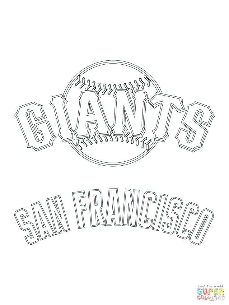 736x981 Mlb Logo Coloring Pages Giants Logo Coloring Pages Mlb Logo