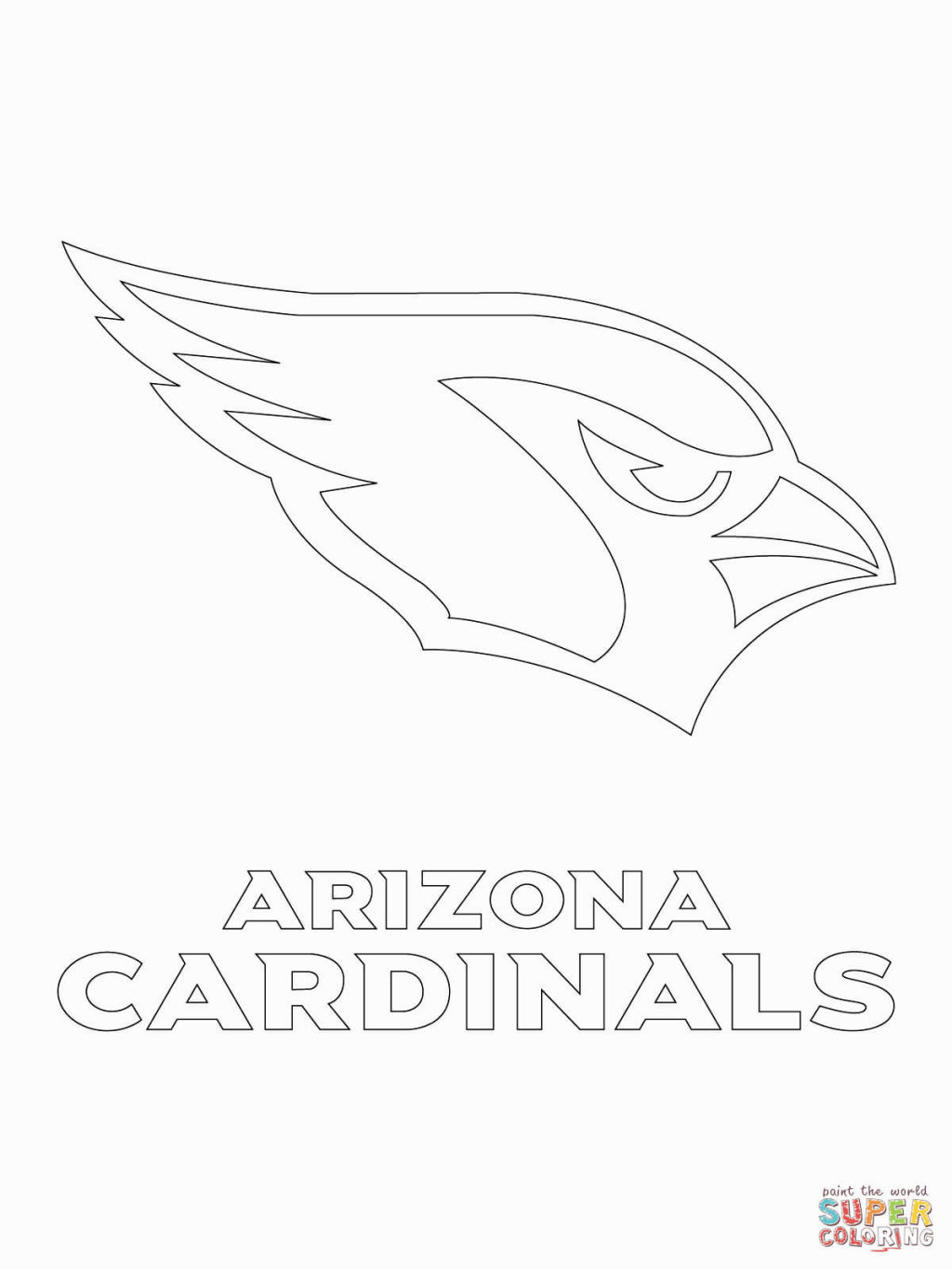 1024x1365 Nfl Logos Coloring Pages Coloring Pages Logos