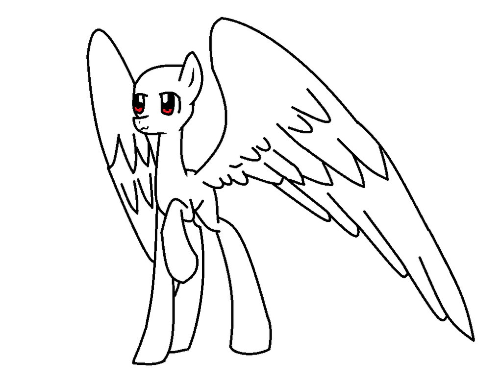 1024x778 Mlp Base Pegasus Adult By Lpsbrasil