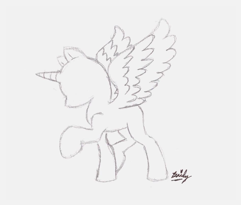 949x805 My Little Pony Friendship Is Magic Pony Princess Base 1 Drawn By