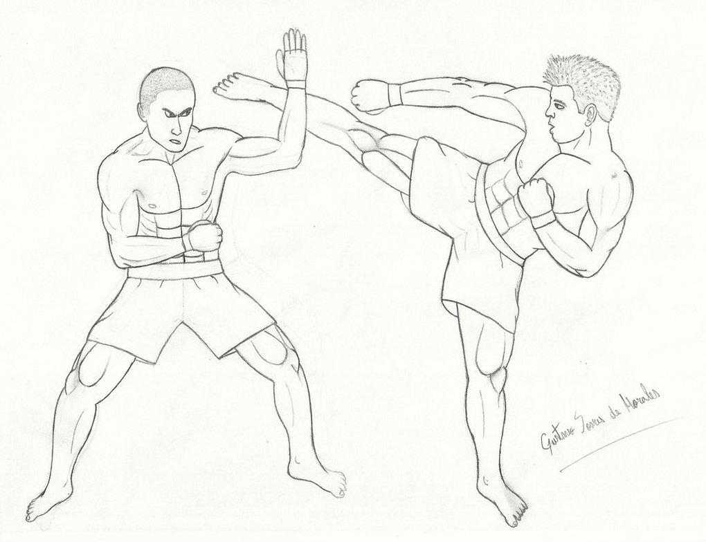 1020x784 Mma Combat By Gustavomorales