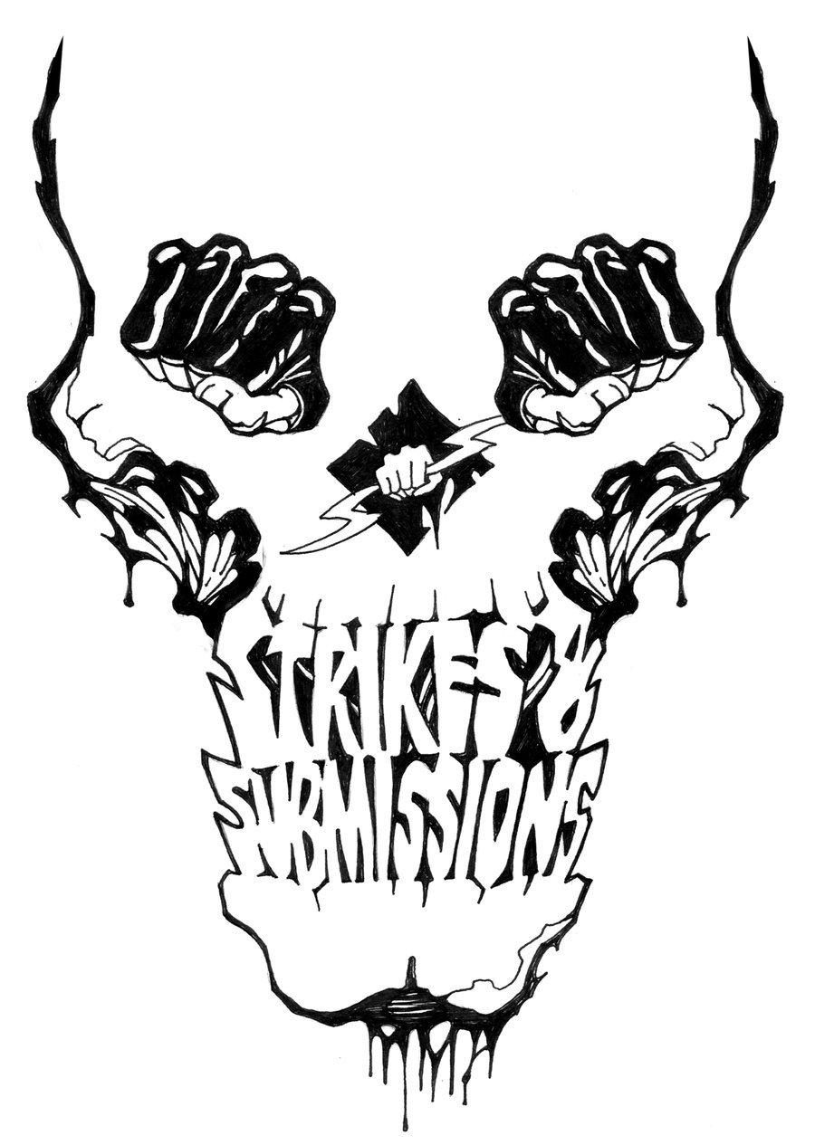 900x1265 Mma Shirt By Strainedeye